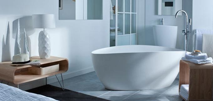 Top 10 des salle de bains design ouvertes sur chambre for Salle de bain avec chambre a coucher