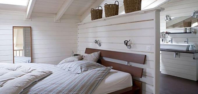 10 salles de bains ouvertes sur chambre originales et - Chambre salle de bain ouverte ...