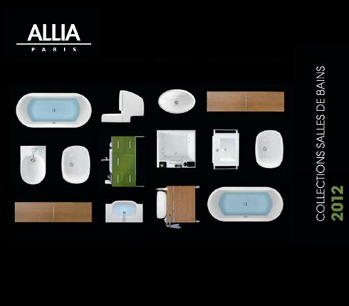 catalogues salle de bains allia et selles 2012 blog d co salle de bains. Black Bedroom Furniture Sets. Home Design Ideas