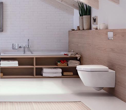chasse d 39 eau murale integr e dans la paroi blog d co. Black Bedroom Furniture Sets. Home Design Ideas
