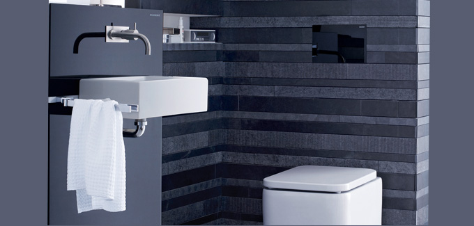 Plaque de toilette Sigma80 de Geberit