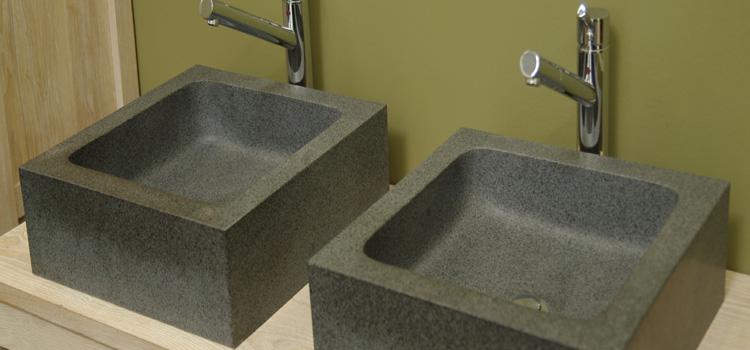 La vasque en pierre