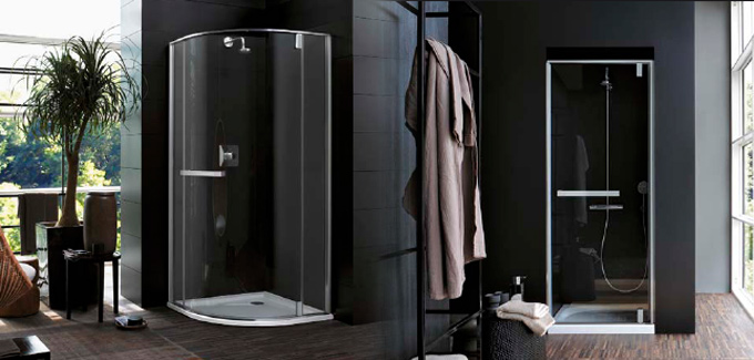 Receveurs parois de douche design par antonio citterio blog d co salle de bains - Paroi de douche quart de rond ...