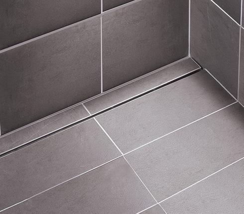 Douches l italienne nouveaut s de limatec d co salle de bains - Caniveau pour douche a l italienne ...