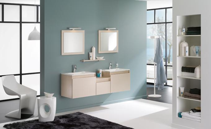 Meubles de salle de bains D-Motion de Delpha
