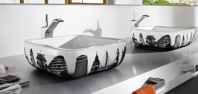 vasque de salle de bain roca