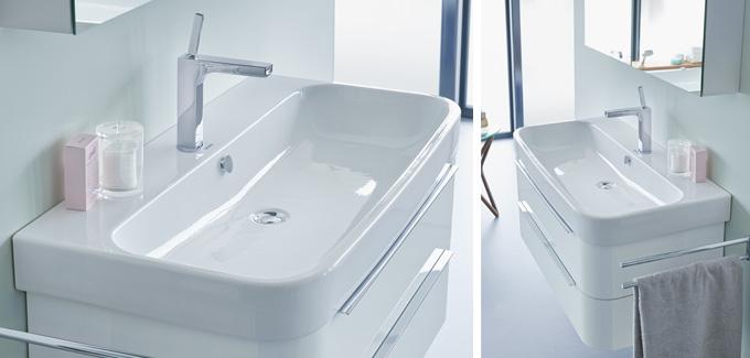 Lavabo de la salle de bains Happy D 2.0