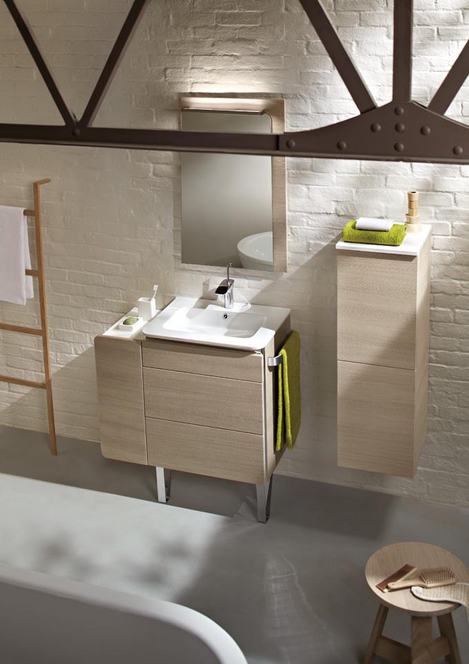 Ceram : une collection de meubles de salle de bains compacte