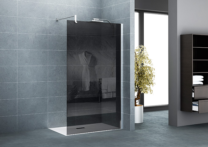 Nouveaut s salle de bains kinedo douche paroi d co salle de bains - Paroi de douche en verre ...