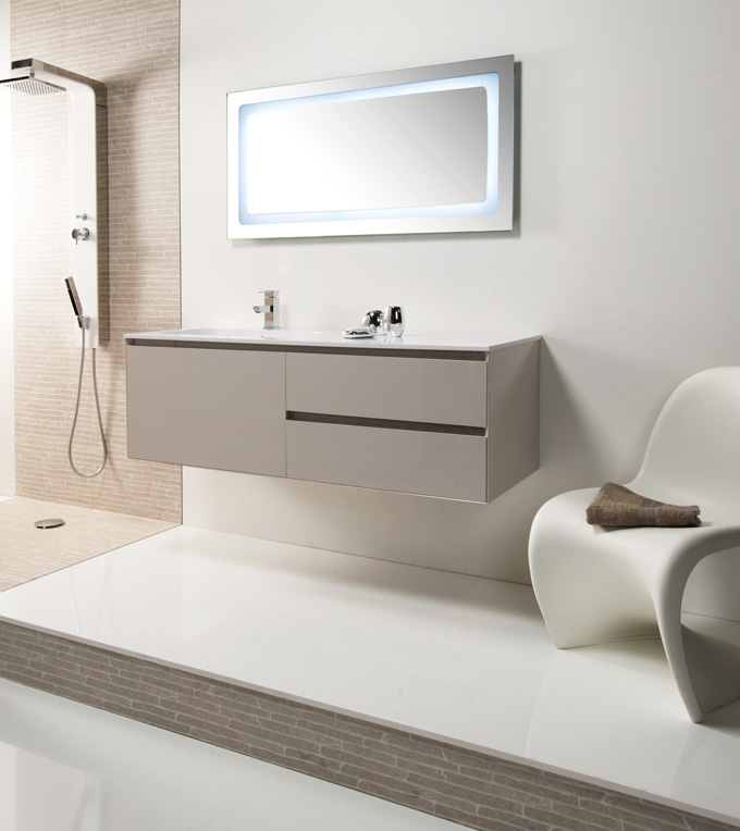 Meuble salle de bains nouveaut s design de cedam d co - Peindre un meuble de salle de bain stratifie ...