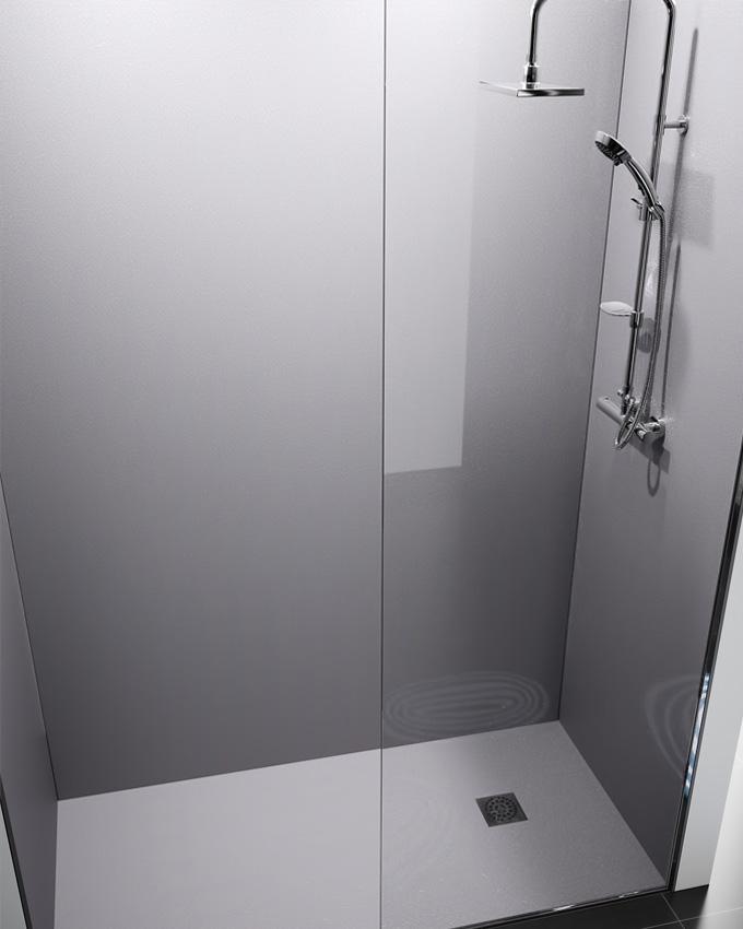 Collection meubles salle de bains ambiance bain d co salle de bains - Panneau douche italienne ...