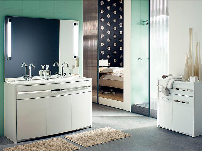 Collections des salles de bains decotec d co salle de bains - Meuble salle de bain decotec prix ...