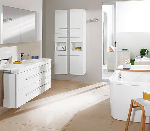 salle de bains modulable villeroy boch joyce d co. Black Bedroom Furniture Sets. Home Design Ideas