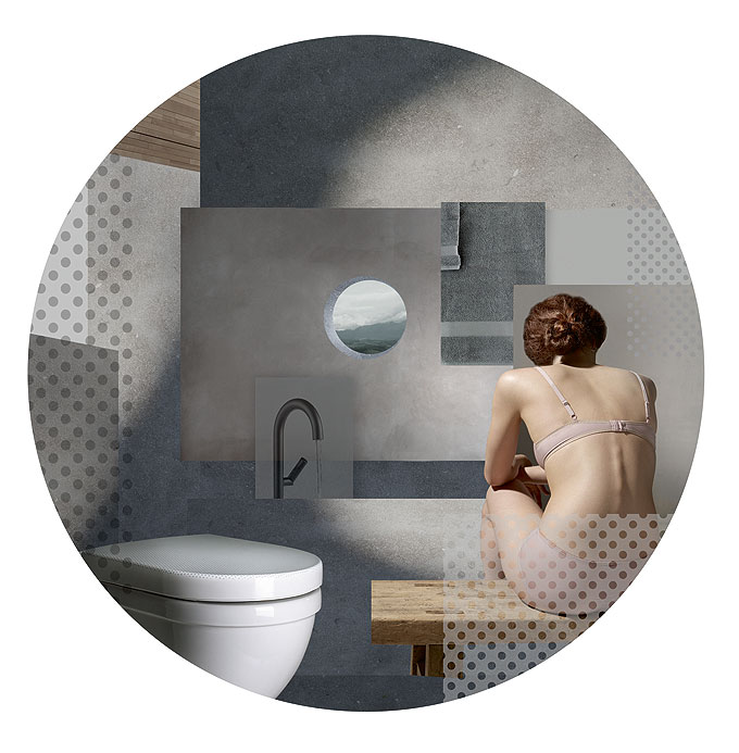 Abattant WC Pressalit Solid Grey