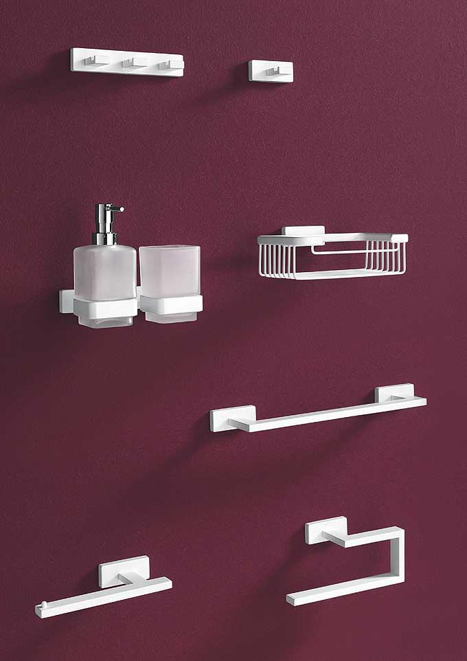 Accessoires salle de bains inda d co salle de bains - Accessoire salle de bain luxe ...