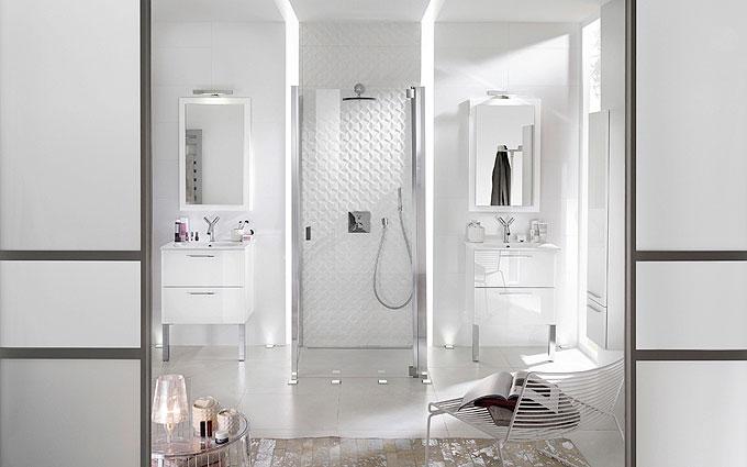 meuble salle de bains delpha cristal - Meuble Delpha Unique Onde
