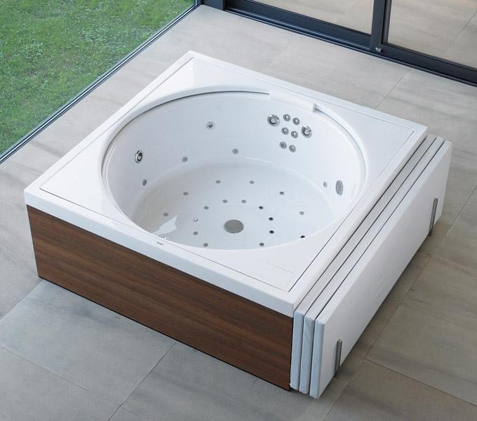 Les baignoires baln o de duravit d co salle de bains for Dimension baignoire balneo
