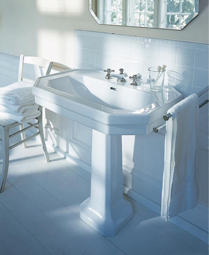 duravit s rie 1930 salle de bains r tro deco salle de bains. Black Bedroom Furniture Sets. Home Design Ideas
