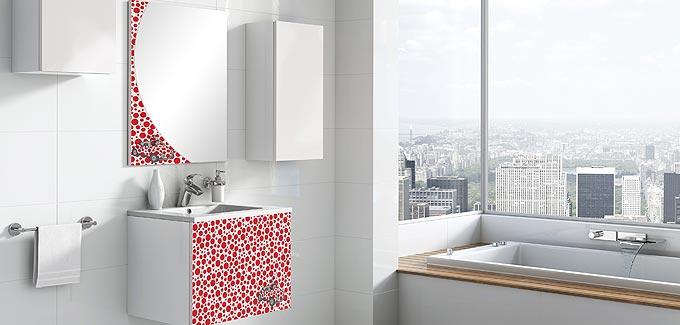 Mobilier de salle de bains lebana de tau grupo deco for Tau ceramica meuble salle de bain