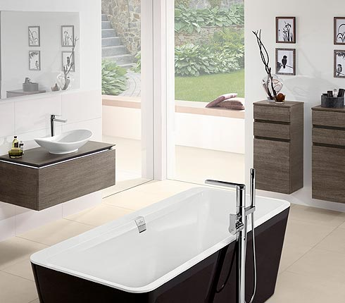 Faire son meuble de salle de bain en beton cellulaire - Faire son meuble de salle de bain ...