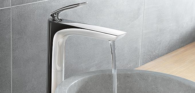 robinet pour salle de bains kludi balance deco salle de. Black Bedroom Furniture Sets. Home Design Ideas