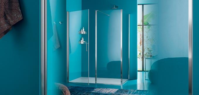 nouvelles parois de douche inda d co salle de bains. Black Bedroom Furniture Sets. Home Design Ideas