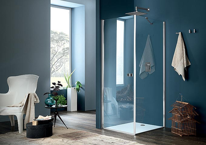 Nouvelles parois de douche inda d co salle de bains for Porte douche inda