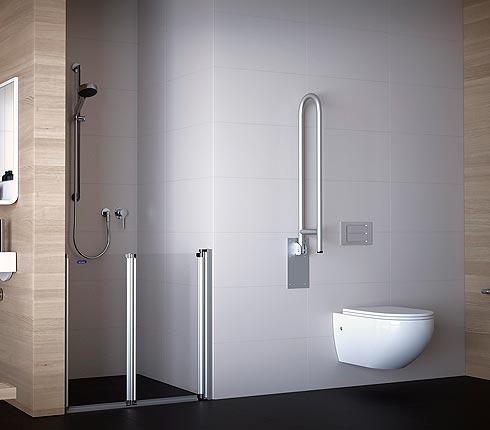 salle de bains adaptée aux PMR