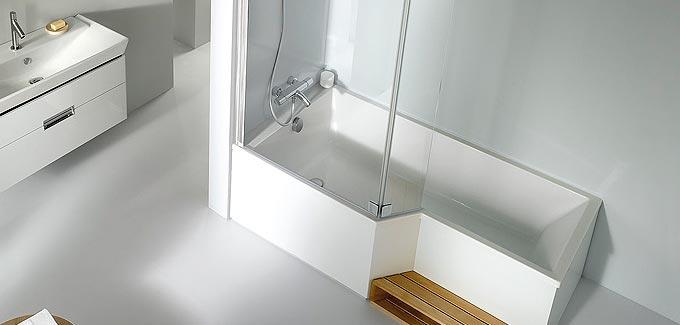 D couvrez des syst mes de douche innovants blog d co for Baignoires douches 2 en 1