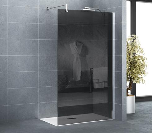 quelle porte ou paroi de douche choisir d co salle de bains. Black Bedroom Furniture Sets. Home Design Ideas