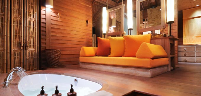 Mettre du bambou dans la salle de bain blog d co salle for Parquet en bambou salle de bain