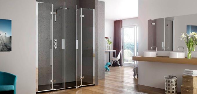 Quelle porte de douche choisir blog d co salle de bains for Decoration porte salle de bain