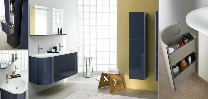 Meuble salle de bain baila de sanijura d co salle de bains - Meuble de salle de bain sanijura ...