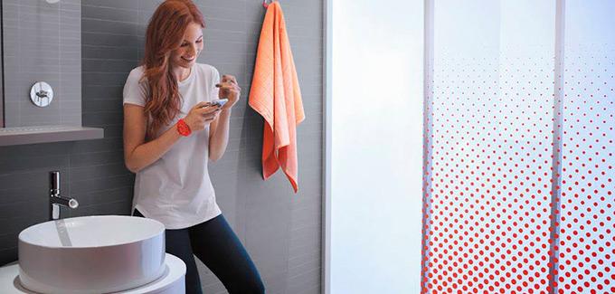 Salle de bains innovante