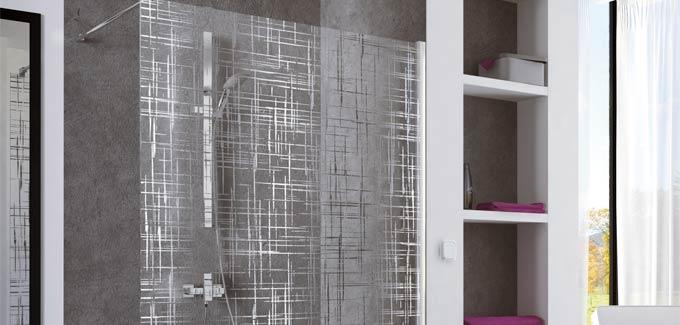 parois de douches s rigraphi es d co assur e d co salle de bains. Black Bedroom Furniture Sets. Home Design Ideas