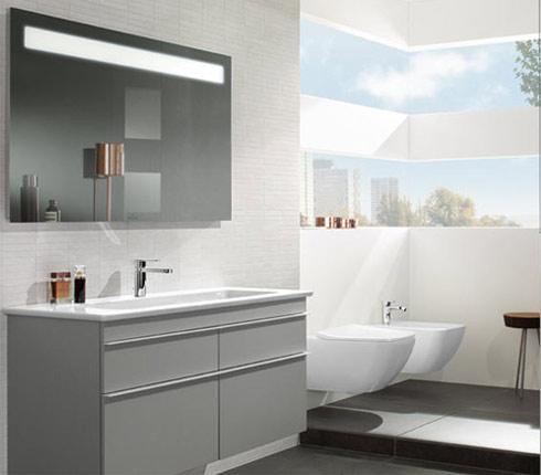 meubles salle de bains les nouveaut s villeroy boch. Black Bedroom Furniture Sets. Home Design Ideas