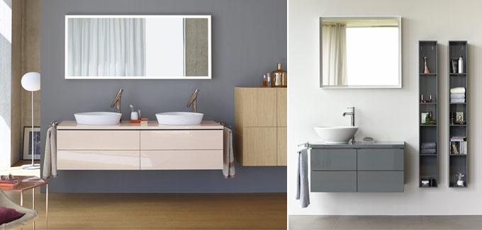 mettre de la couleur dans la salle de bain d co salle de bains. Black Bedroom Furniture Sets. Home Design Ideas