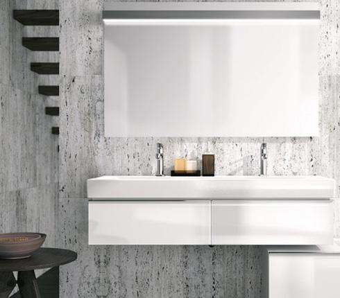 cr er une salle de bain sous les combles d co salle de bains. Black Bedroom Furniture Sets. Home Design Ideas
