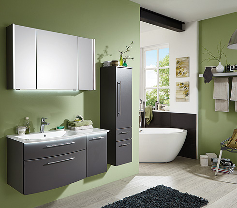Salle de bain couleur tendance 2013 salle de bain vert - Quelle couleur pour salle de bain ...