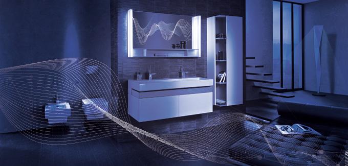 6 accessoires connect s pour la salle de bains d co for Salle de bain du futur