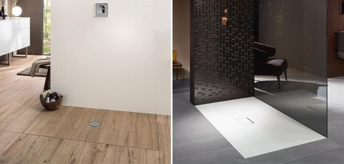 receveurs de douche infinity de villeroy boch d co salle de bains. Black Bedroom Furniture Sets. Home Design Ideas