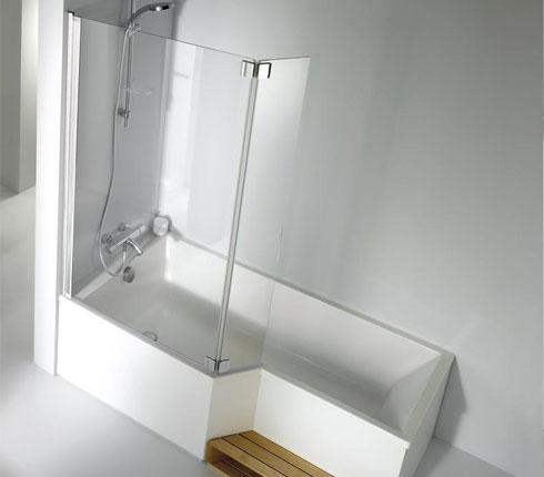 Fabulous salle de bain zen douche italienne en ardoise murs de pierres with douche italienne ardoise - Douche italienne ardoise ...