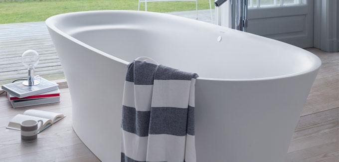 Baignoire lot 4 mod les de r ve d co salle de bains - Baignoire ilot duravit ...