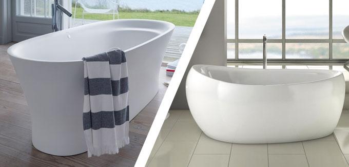 4 baignoires ilot confortables