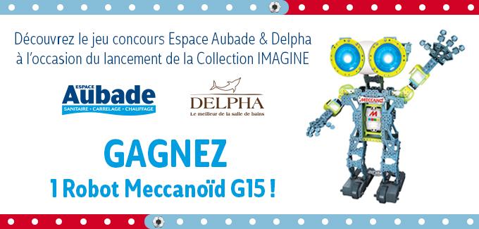 Concours Twitter et Facebook Delpha et Espace Aubade