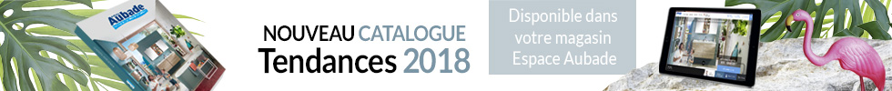 Nouveau catalogue Espace Aubade 2018