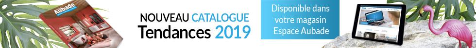 Nouveau catalogue Espace Aubade 2019