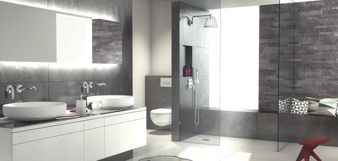 s lection de douches italiennes design et tendances. Black Bedroom Furniture Sets. Home Design Ideas