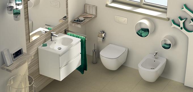meuble salle de bain tesi ideal standard