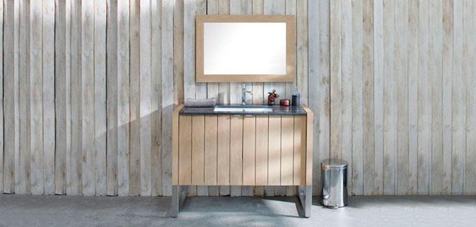 Salle de bains esprit scandinave d co salle de bains for Architecture traditionnelle scandinave